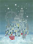 Bothy Threads Snowy London Christmas Cross Stitch Kit