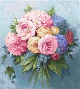 Luca-S Bouquet Cross Stitch Kit