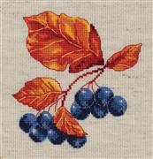 Klart Autumn Berries Cross Stitch Kit