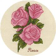 Panna Small Bunch of Roses Cross Stitch Kit