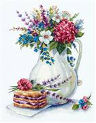 Panna Good Morning Cross Stitch Kit