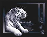 Panna White Tiger Cross Stitch Kit