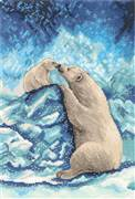 Panna Polar Bears Cross Stitch Kit