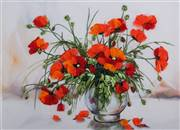 Panna Study of Poppies Embroidery Kit