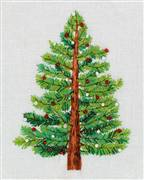 Panna Christmas Tree Embroidery Kit
