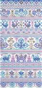 Panna Sampler in Lilac Cross Stitch Kit