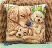 Panna Labradors Pillow Cross Stitch Kit