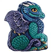 Panna Dragon Pillow Cross Stitch Kit
