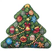 Panna Christmas Tree Pillow Cross Stitch Kit