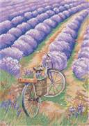 Panna Lavender Field Cross Stitch Kit