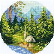 Panna Campfire Cross Stitch Kit
