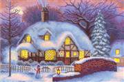 Panna Winter Cottage Christmas Cross Stitch Kit