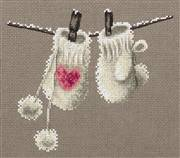 Panna Winter Mittens Christmas Cross Stitch Kit