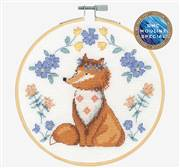 DMC Folk Fox Cross Stitch Kit