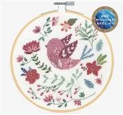 DMC Folkbird Cross Stitch Kit