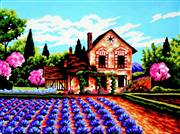 Gobelin-L Spring Cottage Tapestry Canvas