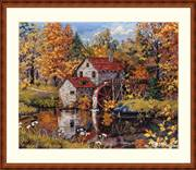 Merejka Watermill Cross Stitch Kit