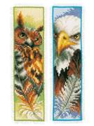 Vervaco Eagle and Owl Bookmarks Cross Stitch Kit