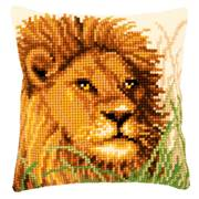 Vervaco Lion Cushion Cross Stitch Kit