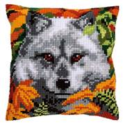 Vervaco Wolf Cushion Cross Stitch Kit