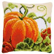 Vervaco Pumpkin Cushion Cross Stitch Kit