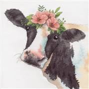 Dimensions Sweet Cow Cross Stitch Kit