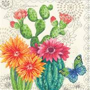 Dimensions Cactus Bloom Cross Stitch Kit