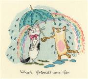 Bothy Threads What Friends are For Cross Stitch Kit