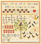 Bothy Threads On The First Day Christmas Cross Stitch Kit