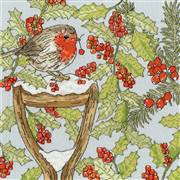 Bothy Threads Christmas Garden Cross Stitch Kit