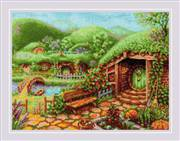 RIOLIS Green Hills Cross Stitch Kit
