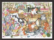 Cross stitch Design Works Crafts Animals