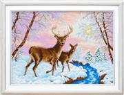 VDV Deer in Winter Embroidery Kit