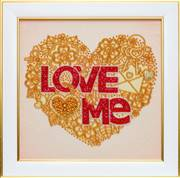 VDV Love Me Wedding Sampler Embroidery Kit
