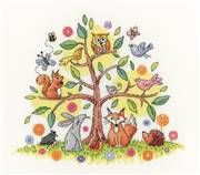 Heritage Tree of Life - Evenweave Cross Stitch Kit