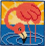 Permin Flamingo Cross Stitch Kit