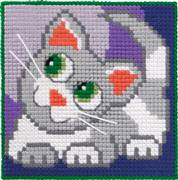 Permin Cat Cross Stitch Kit