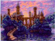 RIOLIS Mysterious Castle Cross Stitch Kit
