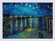 RIOLIS Starry Night on the Rhone Craft Kit