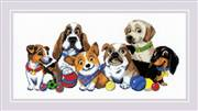 RIOLIS Dog Show Cross Stitch Kit