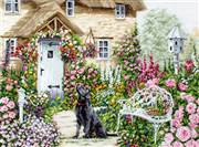 Luca-S The Cottage Garden Cross Stitch Kit