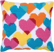 Needleart World Heart Collage No Count Cross Stitch Kit