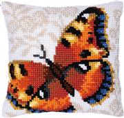 Needleart World Umber Butterfly No Count Cross Stitch Kit