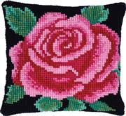 Needleart World Classical Rose No Count Cross Stitch Kit