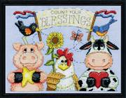 Design Works Crafts Barnyard Blessings Cross Stitch Kit