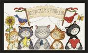 Design Works Crafts Purr On Cross Stitch Kit