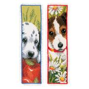 Vervaco Dogs Bookmarks Set of 2 Cross Stitch Kit