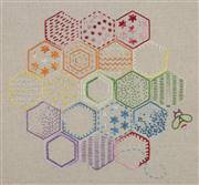 Anchor Honeycomb Stitch Sampler Embroidery Kit