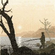 Heritage Gone Fishing - Aida Cross Stitch Kit