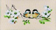Blossom Buddies - Aida - Heritage Cross Stitch Kit